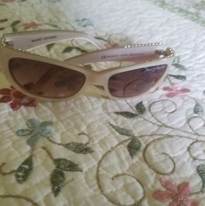AUTH MARC JACOBS MJ071/S SUNGLASSES PEARL CRYSTAL